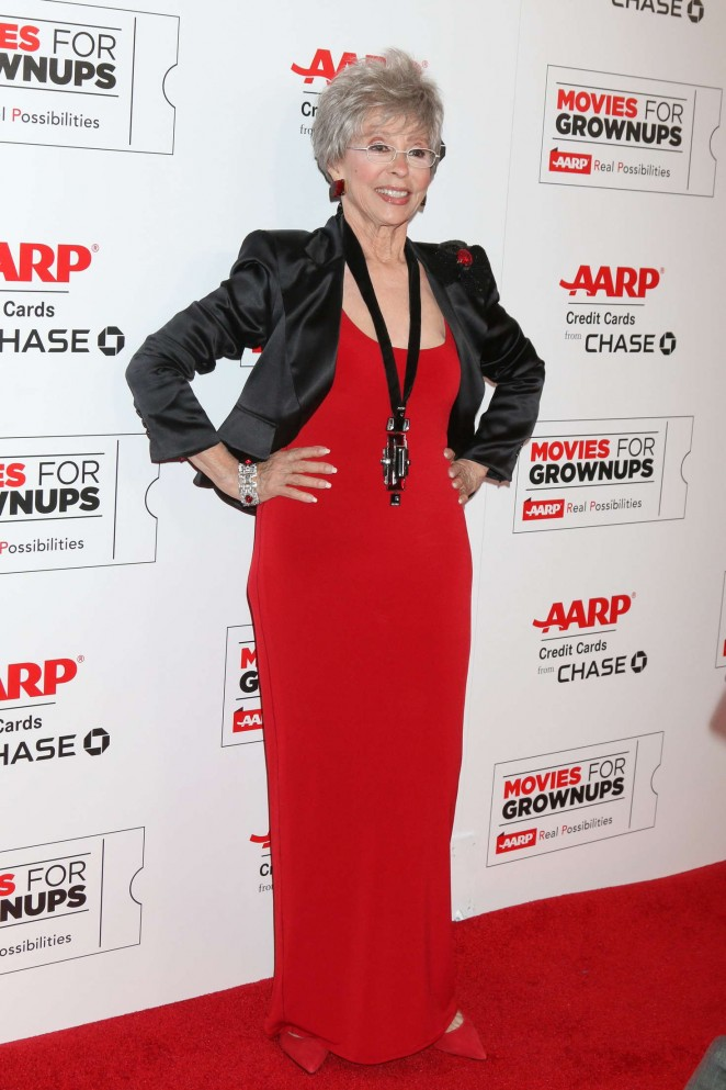 Rita Moreno - AARP's Movie For GrownUps Awards in Beverly Hills