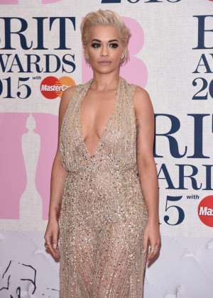 Rita Ora - 2015 BRIT Awards in London