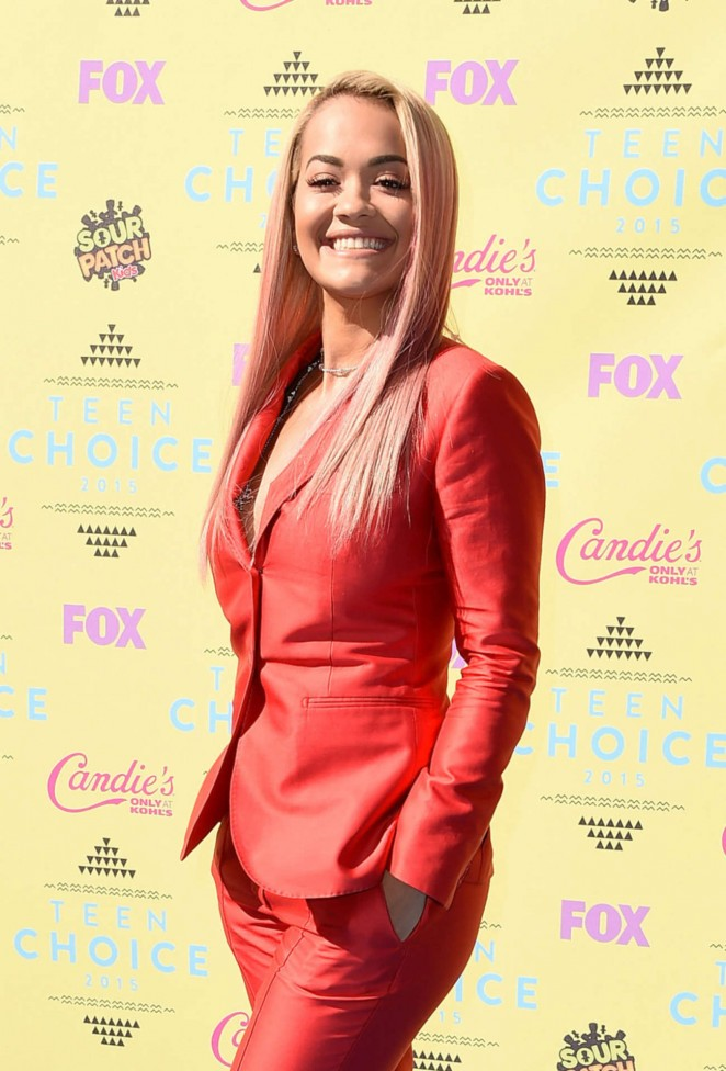 Rita Ora – 2015 Teen Choice Awards in LA