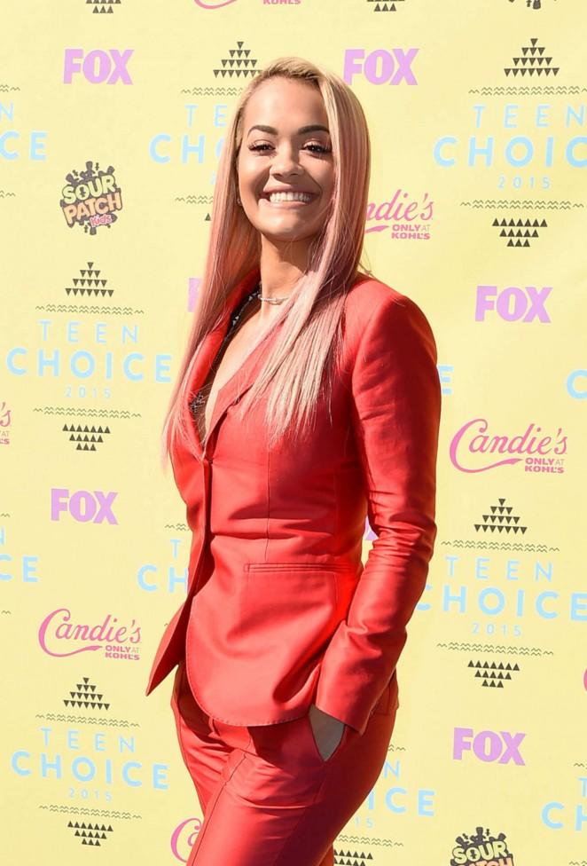 Rita Ora - 2015 Teen Choice Awards in LA