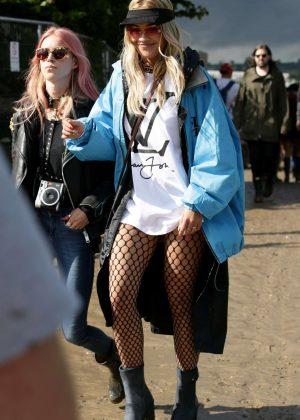 Rita Ora - 2016 Glastonbury Festival Day 1 in England