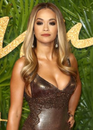 Rita Ora - 2017 Fashion Awards in London