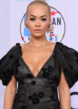 Rita Ora - 2018 American Music Awards in Los Angeles