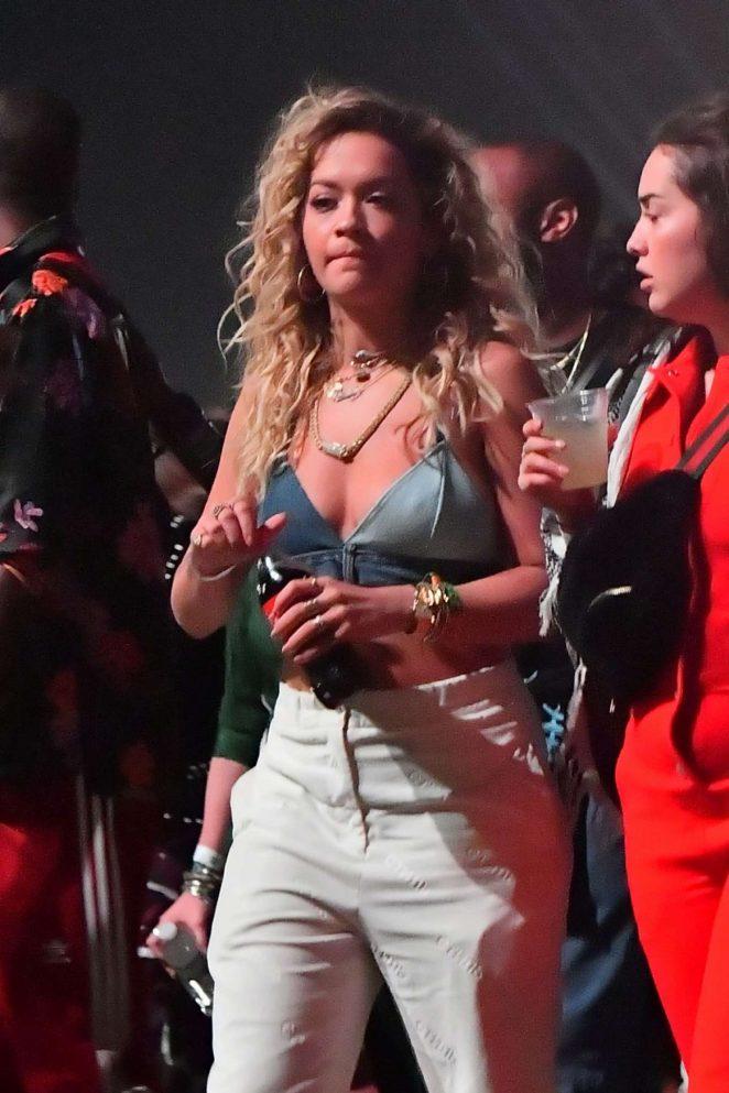 Rita Ora - 2018 Coachella Festival in Indio