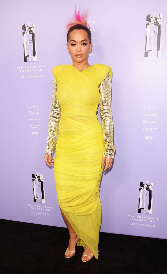 Rita Ora - 2018 Fragrance Foundation Awards in New York