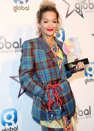 Rita Ora - 2018 Global Awards in London