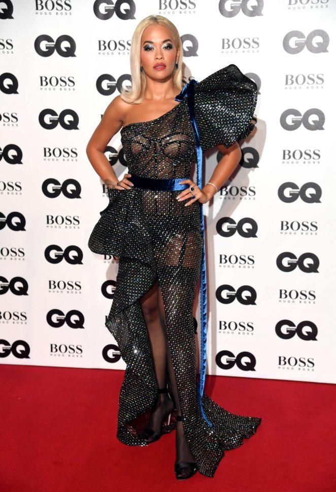 Rita Ora - 2018 GQ Men of the Year Awards in London
