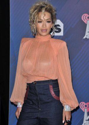 Rita Ora - 2018 iHeartRadio Music Awards in Inglewood