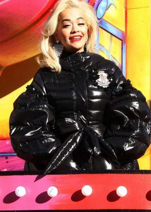 Rita Ora - 2018 Macy's Thanksgiving Day Parade in NYC