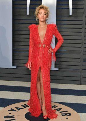 Rita Ora - 2018 Vanity Fair Oscar Party in Hollywood