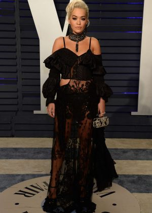 Rita Ora - 2019 Vanity Fair Oscar Party in Beverly Hills