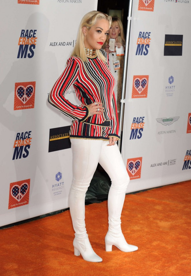 Rita Ora - 2015 Race To Erase MS Event in Century City