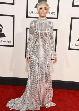 Rita Ora - GRAMMY Awards 2015 in Los Angeles