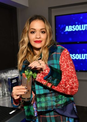 Rita Ora - Absolut Open Mic Project Inspire Acceptance Through Music in NYC