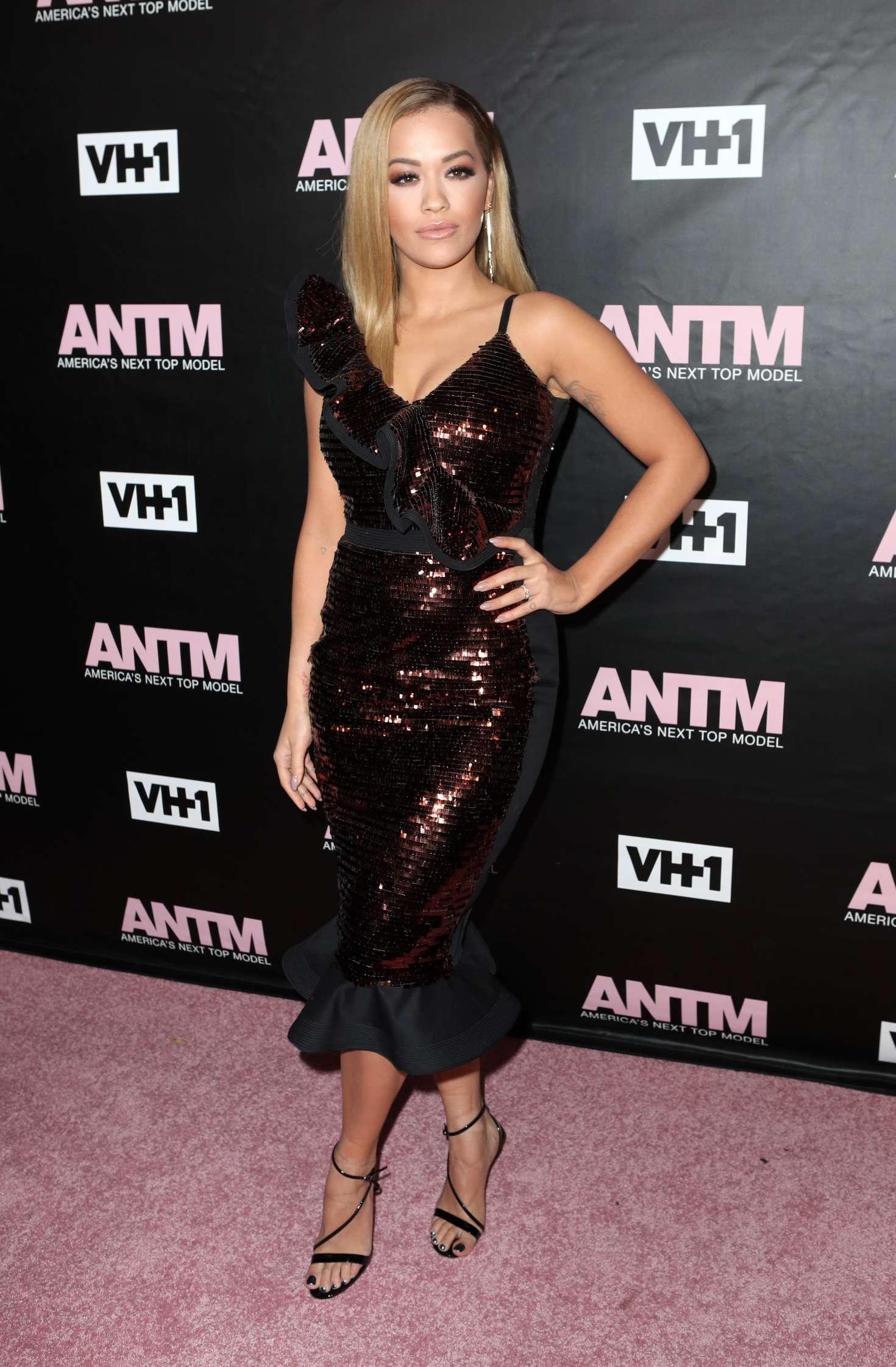 Rita Ora 2016 : Rita Ora: Americas Next Top Model Premiere Party -05