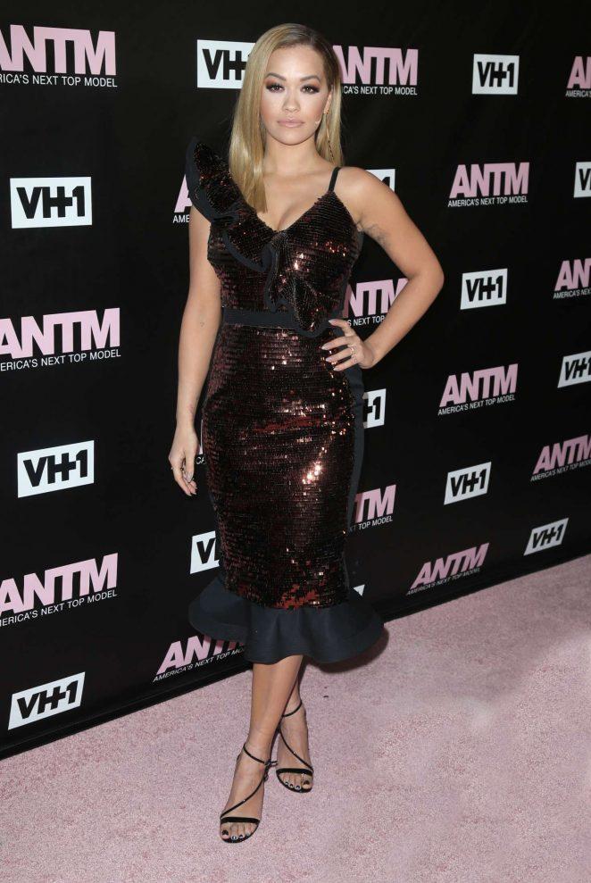 Rita Ora: Americas Next Top Model Premiere Party -07