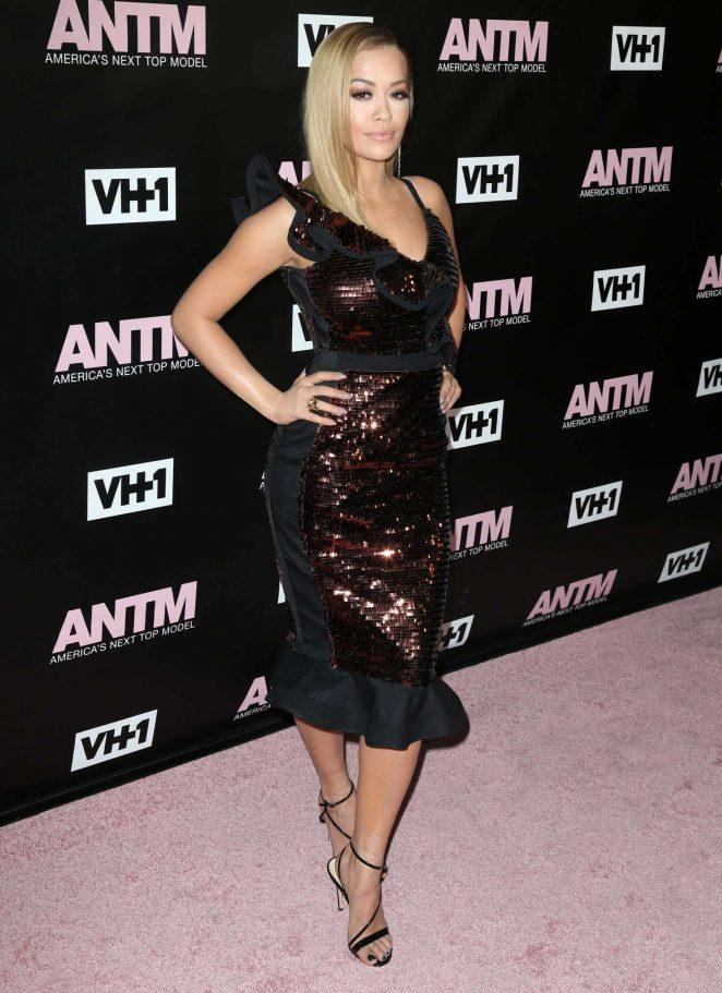 Rita Ora: Americas Next Top Model Premiere Party -09