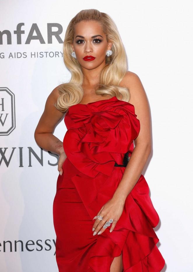 Rita Ora - amfAR 2015 Cinema Against AIDS Gala in Cannes