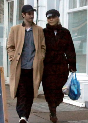 Rita Ora and Andrew Garfield - Shopping in Primrose Hill