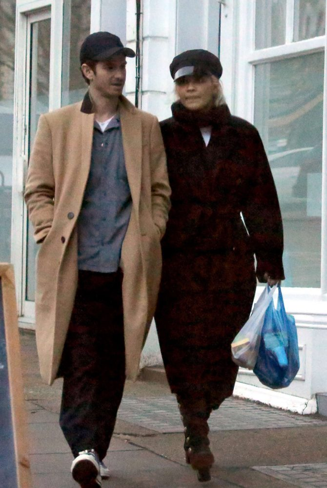 Rita Ora and Andrew Garfield – Shopping in Primrose Hill