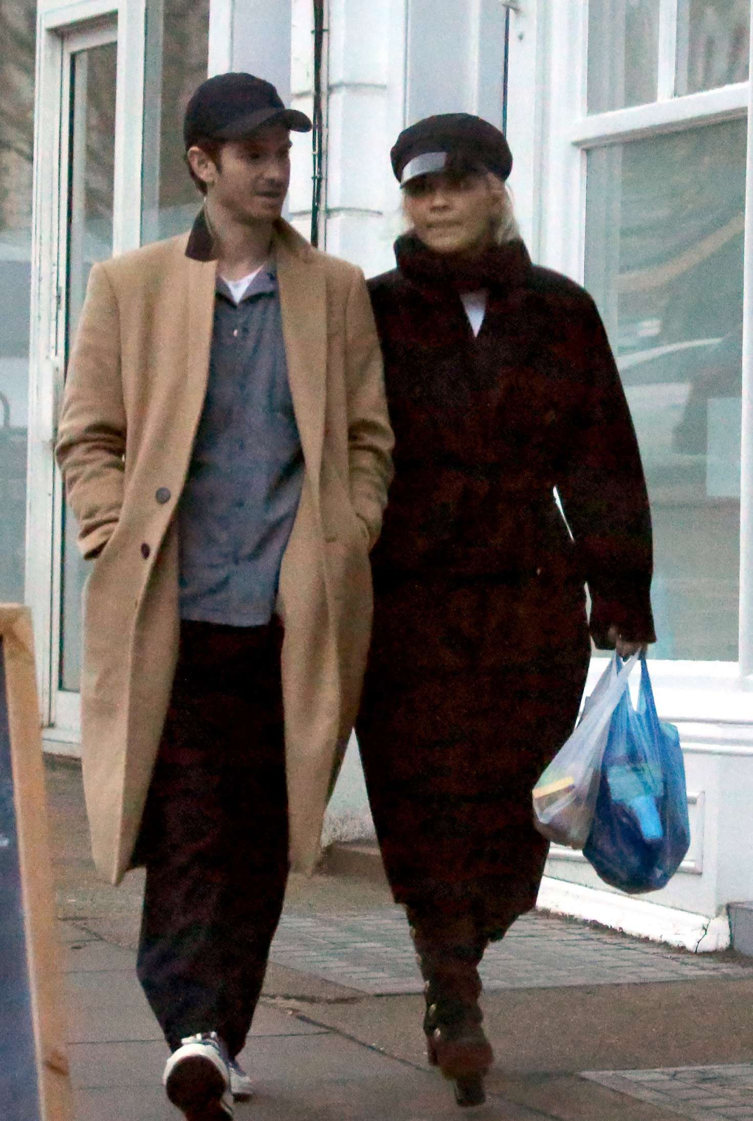 Rita Ora and Andrew Garfield - Shopping in Primrose Hill