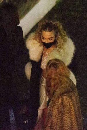 Rita Ora and Cara Delevigne - Celebrate her 30th party