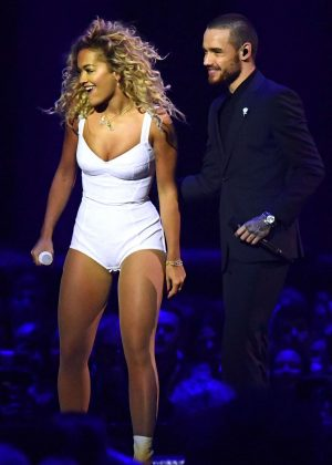 Rita Ora and Liam Payne - Perform at The Brit Awards 2018 in London