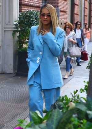 Rita Ora - Arrives at an Event in New York
