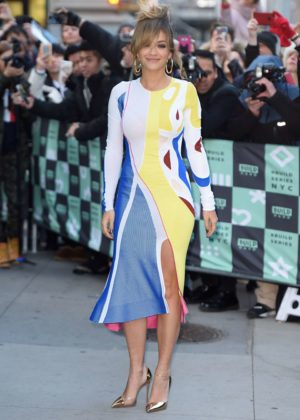Rita Ora - Arrives at AOL Build in NYC