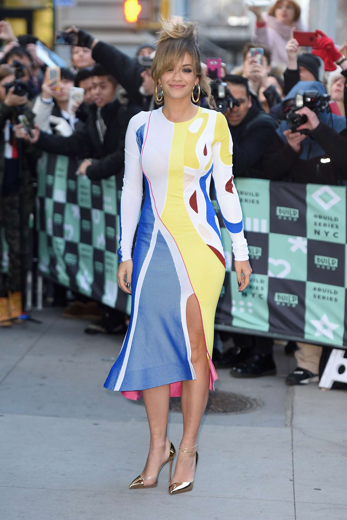 Rita Ora 2017 : Rita Ora: Arrives at AOL Build in NYC -03