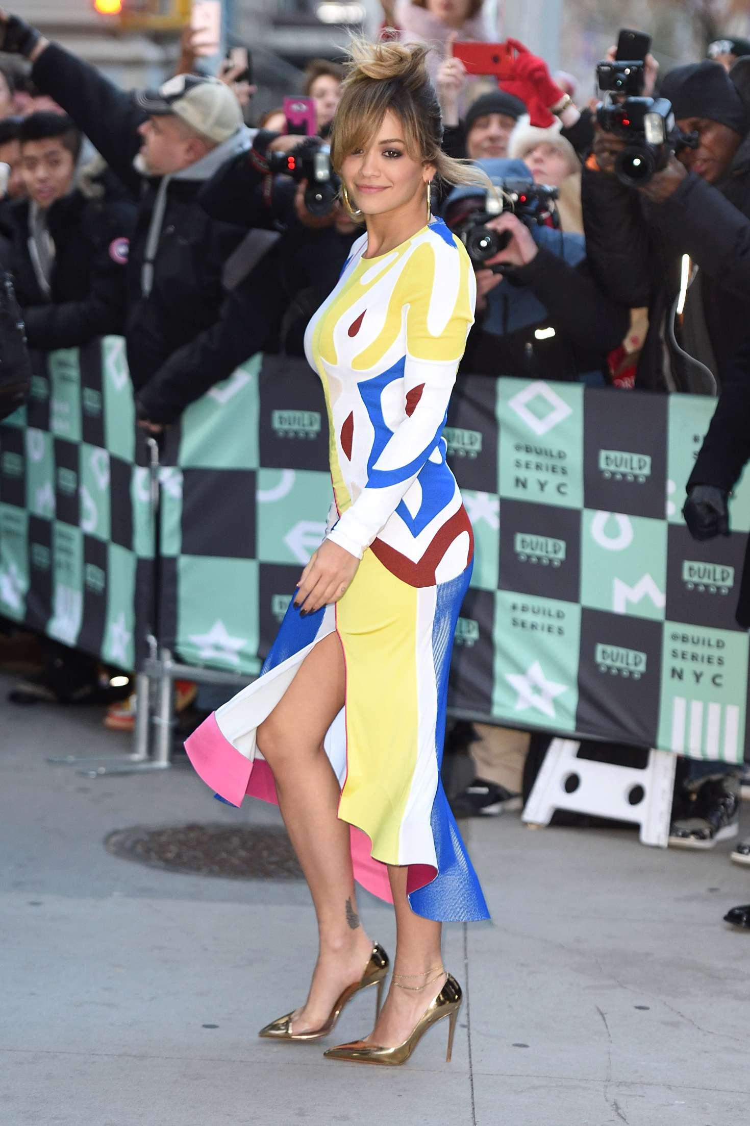 Rita Ora 2017 : Rita Ora: Arrives at AOL Build in NYC -04