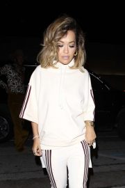 Rita Ora - Arrives at Craig's for dinner in West Hollywood