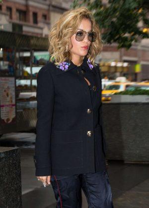 Rita Ora - Arrives at Good Morning America in New York City