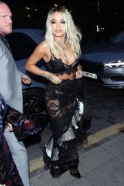 Rita Ora - Arrives at GQ Men of the Year Awards Party in London
