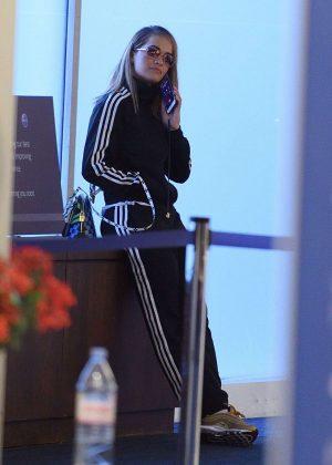 Rita Ora - Arrives at JFK airport in New York