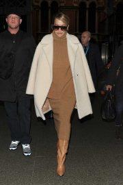 Rita Ora - Arrives at Kings Cross on a Eurostar train from Paris in London