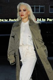 Rita Ora - Arrives at the Greenwich Hotel in New York