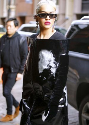 Rita Ora - Arrives at The Mercer Hotel in New York City