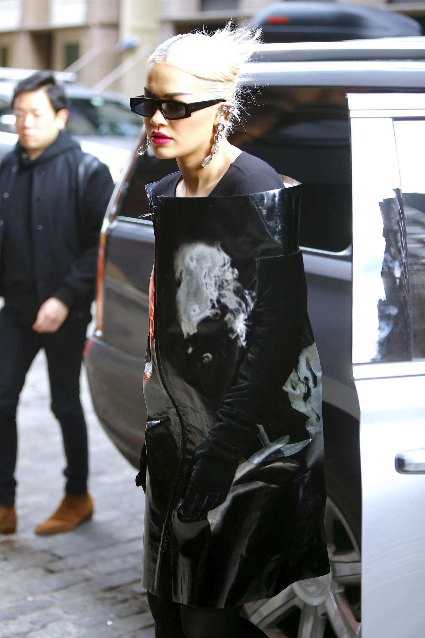 Rita Ora 2018 : Rita Ora: Arrives at The Mercer Hotel -12