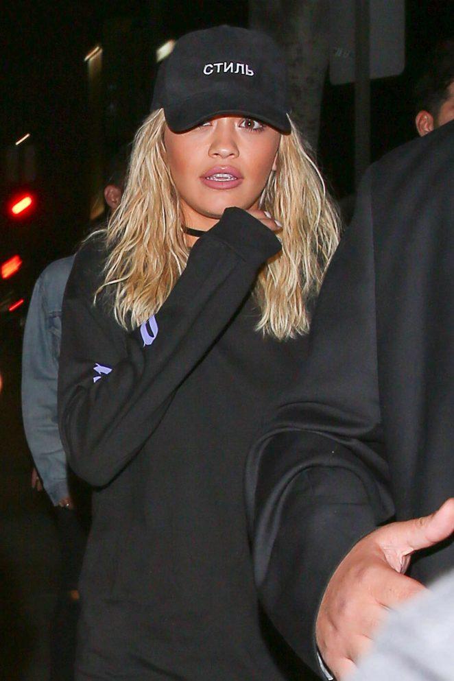 Rita Ora Arrives at Warwick Nightclub -03