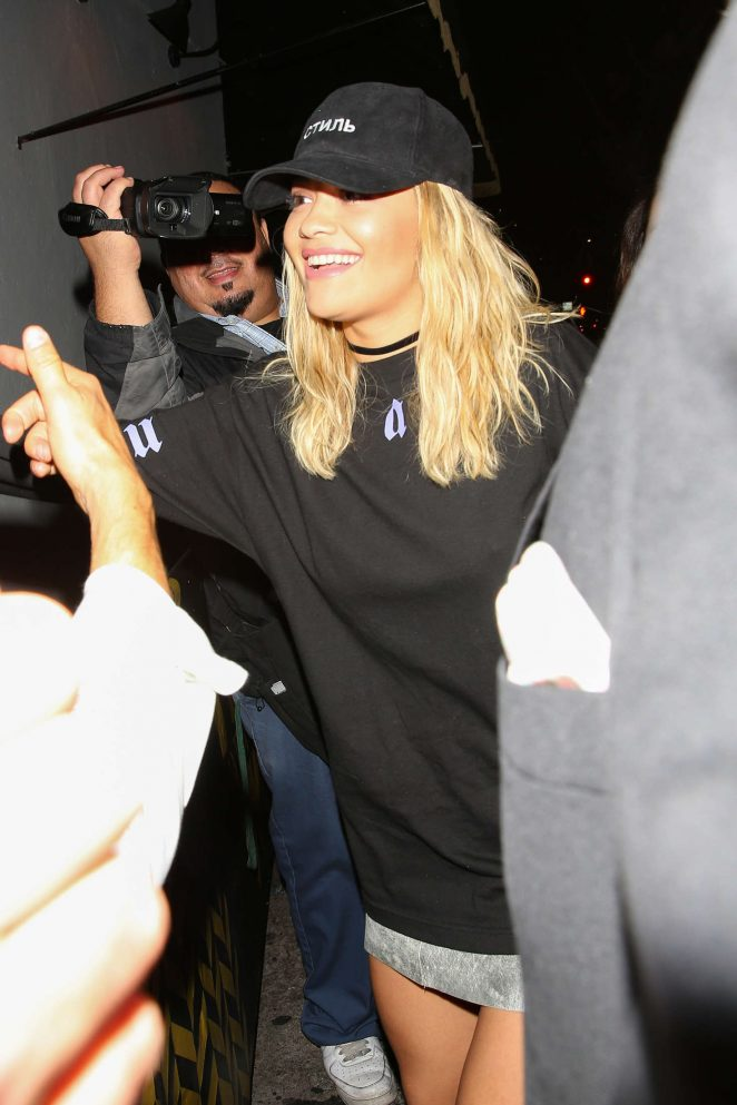 Rita Ora Arrives at Warwick Nightclub -04
