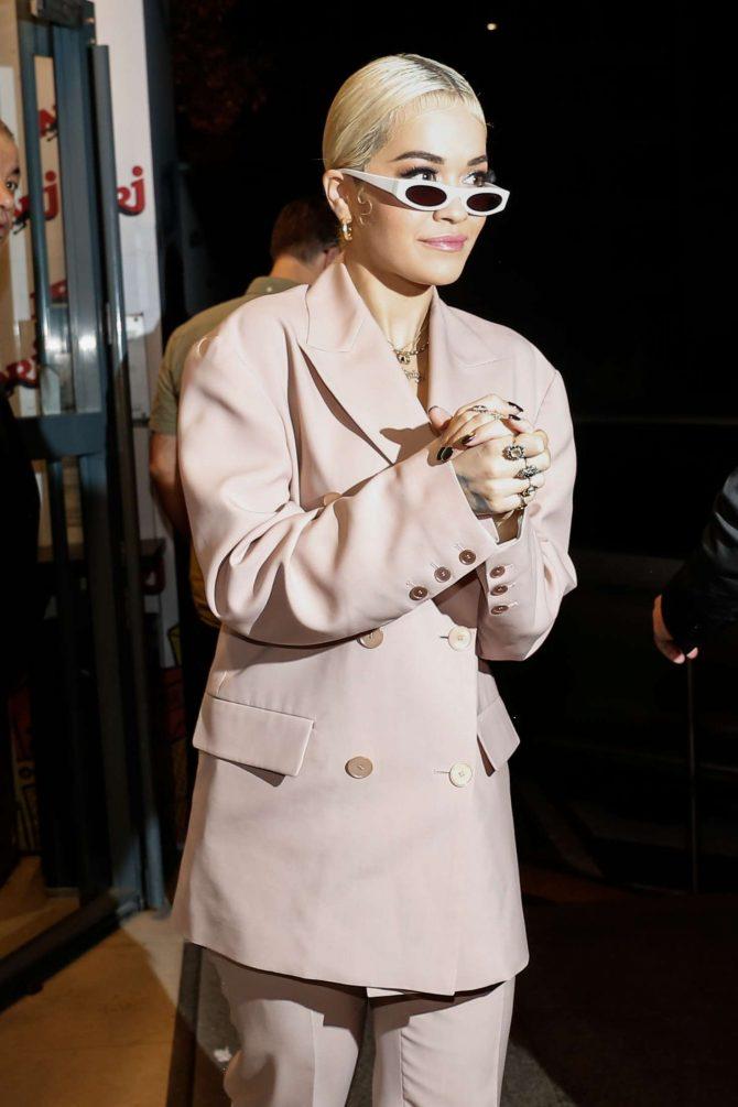 Rita Ora – Arriving at Gare du Nord in Paris