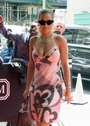 Rita Ora - Arriving at her hotel in New York City