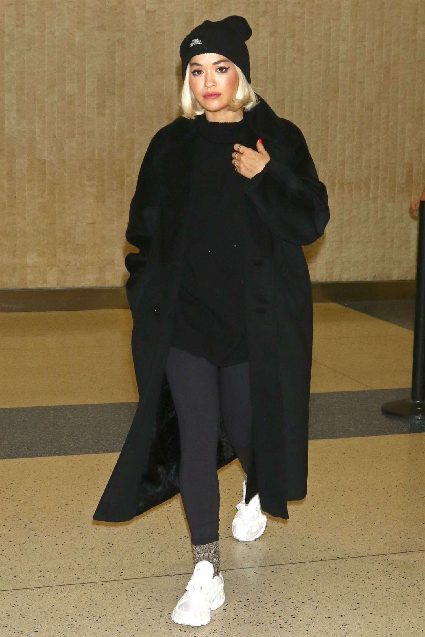 Rita Ora 2018 : Rita Ora: Arriving at JFK Airport -02