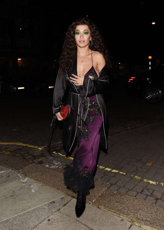 Rita Ora – Arriving at LAYLOW Halloween Party in London