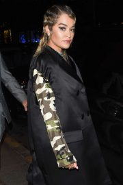 Rita Ora - Arriving at Miu Miu After Party Dinner in Paris