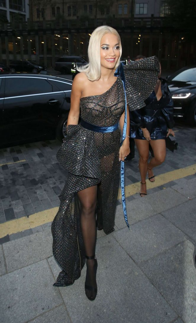 Rita Ora - Arriving at the GQ Men of the Year Awards in London
