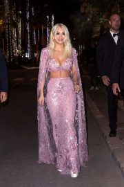 Rita Ora - Arriving For The Magnum Beach Party in Cannes