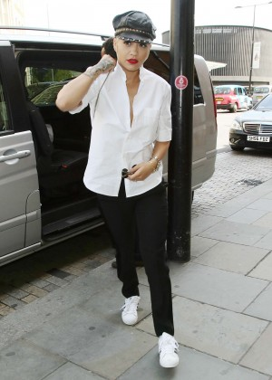 Rita Ora - Arriving in London