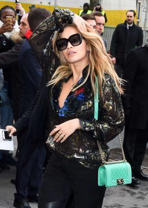 Rita Ora at Chanel Show 2017 in Paris